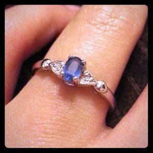 Genuine Ceylon Sapphire ring